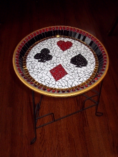 Mosaic Poker Table