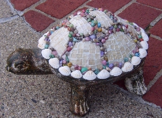 Mosaic Turtle named Shelly