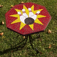 Mosaic Bowling Table