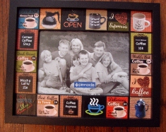 Coffe lover Collage Frame